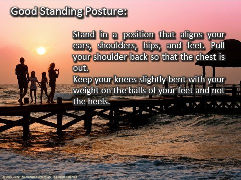Happiest Standing Posture