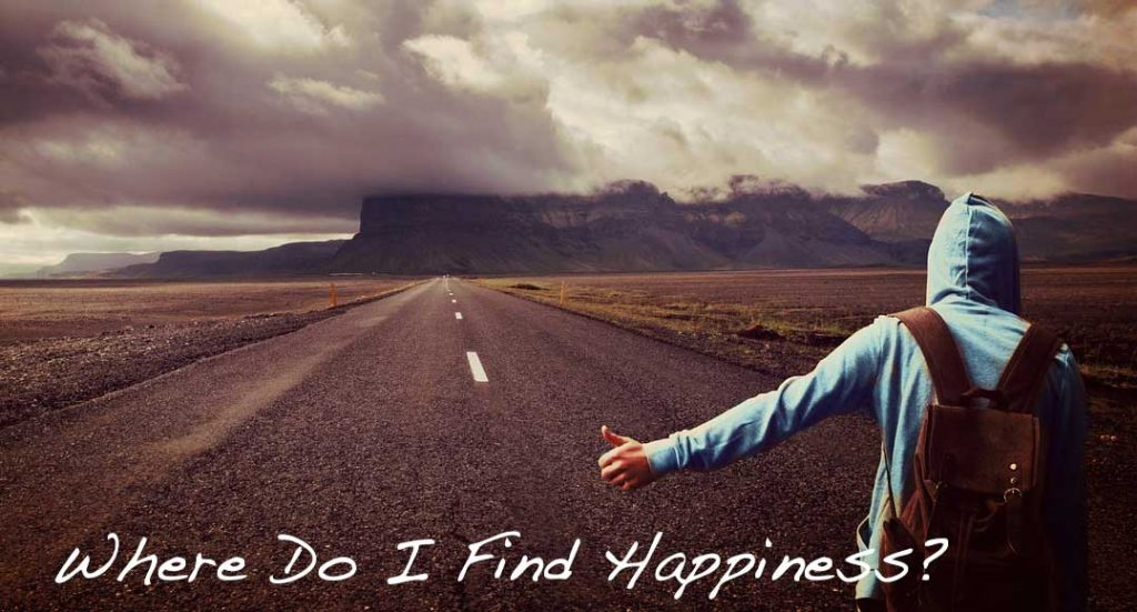 How to find real happiness.
