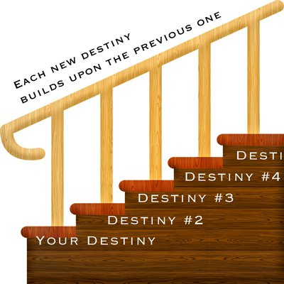 Your life has multiple destinies.