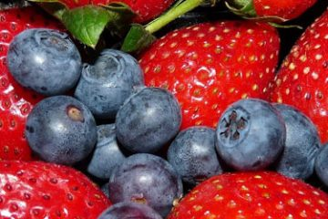 Berries and strawberries are on our ketogenic diet food list.